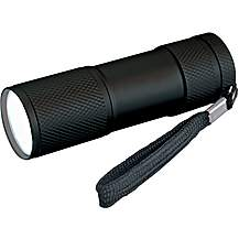 image of Halfords 9 LED Aluminium Torch