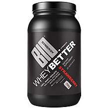 image of Bio Synergy Whey Better, Strawberry 750g