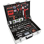 image of Halfords 114 Piece Aluminium Tool Set