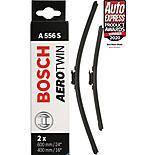 Bosch A556S Wiper Blades - Front Pair