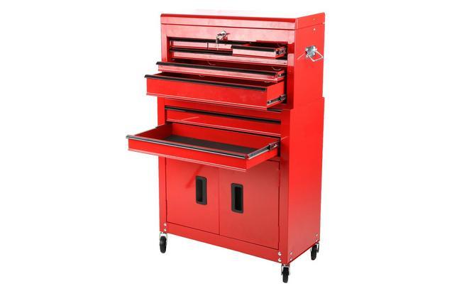 halfords 8 drawer tool centre