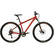 "image of Carrera Hellcat Mens Mountain Bike - Red - 16"", 18"", 20"" Frames"