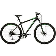 d31f2740487 image of Carrera Hellcat Mens Mountain Bike - Black - 16