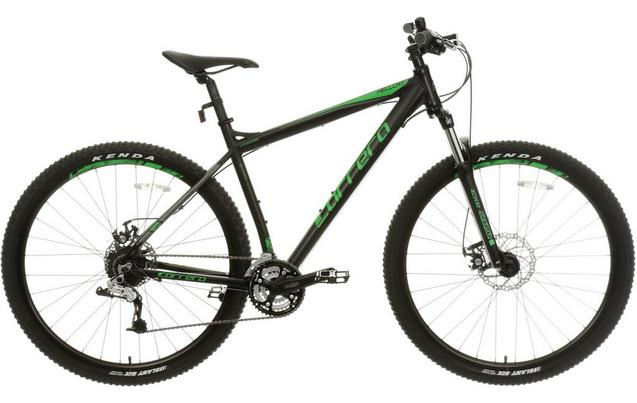 Carrera Hellcat Mens Mountain Bike Black 16 18 20 Frames