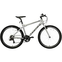 Carrera Axle Mens Hybrid Bike - Silver - 16