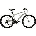 "image of Carrera Axle Mens Hybrid Bike - Silver - 16"", 18"", 20"" Frames"