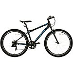 "image of Carrera Axle Mens Hybrid Bike - Black - 16"", 18"", 20"" Frames"