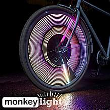 image of MonkeyLectric M232R 200 Lumens Wheel Light with Rechargeable Battery
