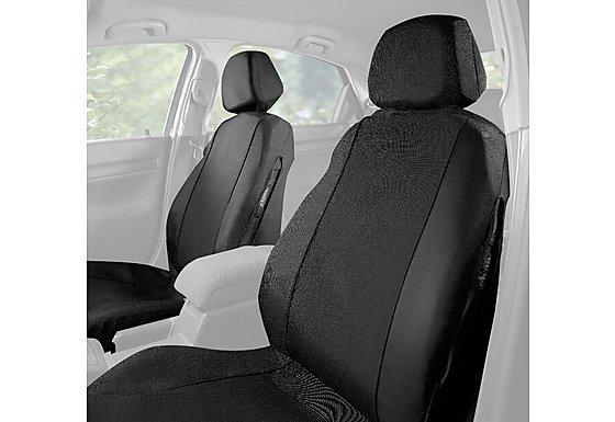 Halfords Halfords Car Seat Covers Front Pair Black