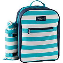 image of Summerhouse Coast 4 Person Picnic Backpack and Bottle Cooler