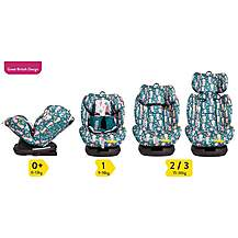 image of COSATTO ALL IN ALL GROUP 0+123 CAR SEAT ISOFIX MINI MERMAIDS
