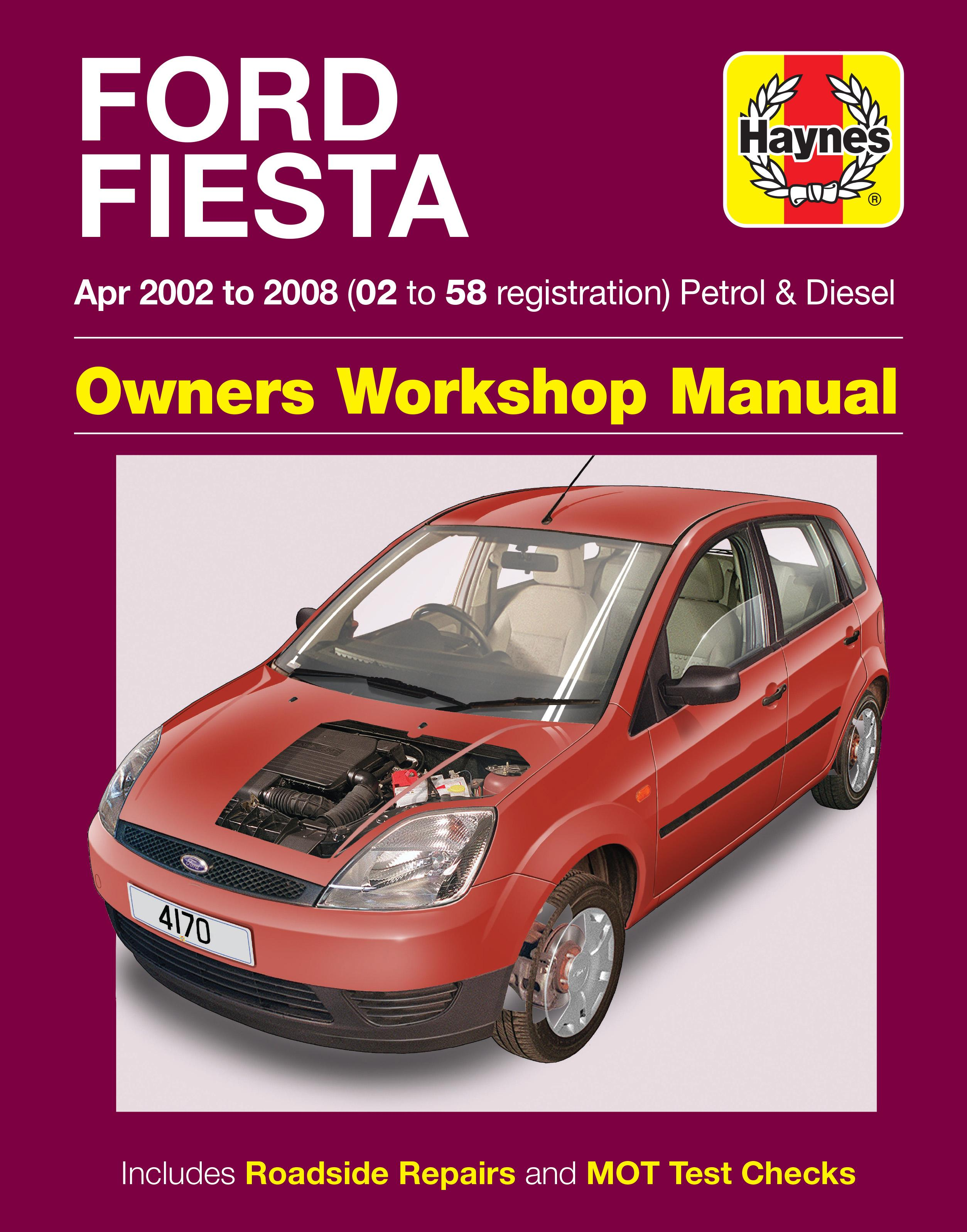 haynes ford fiesta apr 02 08 ma rh halfords com White Ford Fiesta Ford Fiesta Manual Transmission