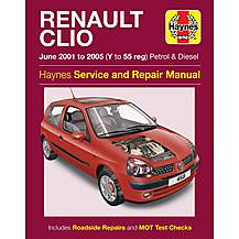 image of Haynes Renault Clio (June 01-05) Manual