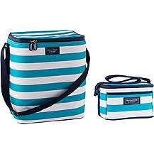 image of Summerhouse Coast Insulated Personal Cool Bag and Insulated Upright Family Cool Bag - Aqua