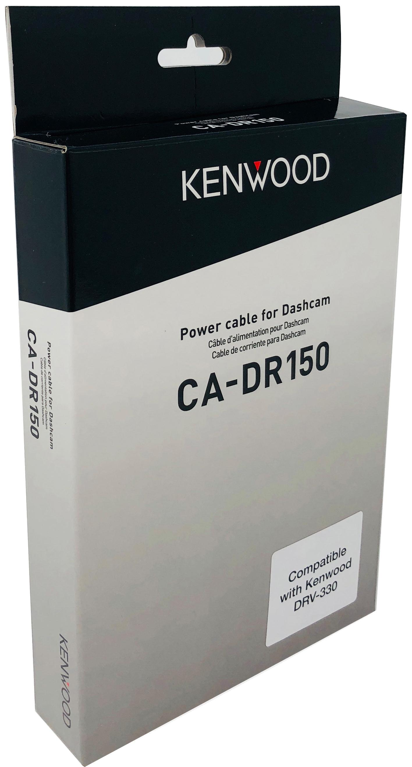 Kenwood Ca-Dr150 Hardwired Fitting Kit For Drv-330 Dash Cam