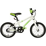 "image of Carrera Cosmos Kids Bike - 14"" Wheel - White"