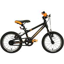 "image of Carrera Cosmos Kids Bike - 14"" Wheel - Black"