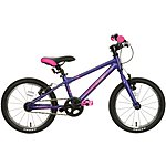 "image of Carrera Cosmos Kids Bike - 16"" Wheel - Purple"