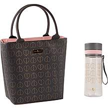 image of Beau and Elliot Dove Tote Lunch Bag and hydration bottle