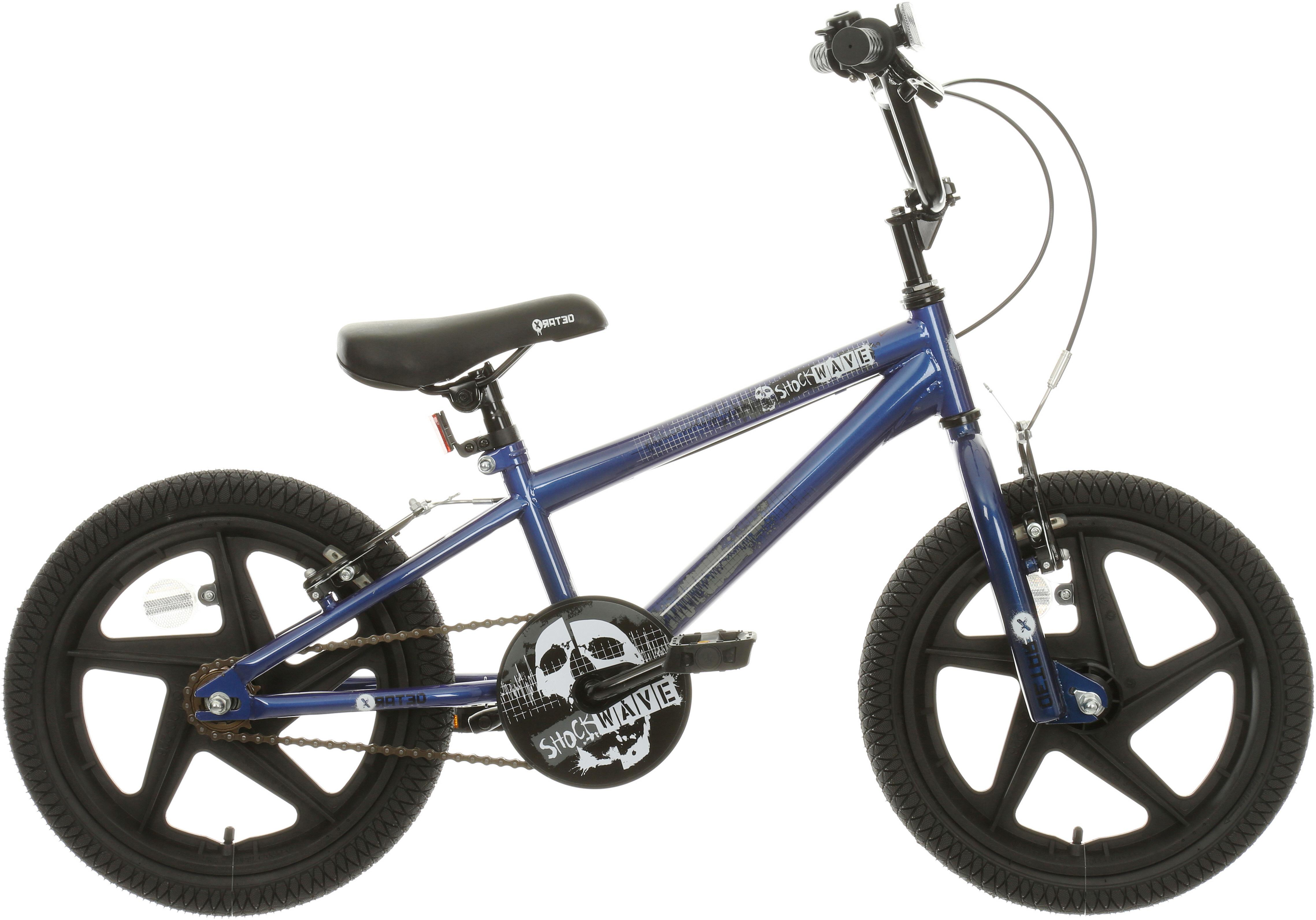X-Rated Shockwave Kids BMX Bike - 16 inch Wheel