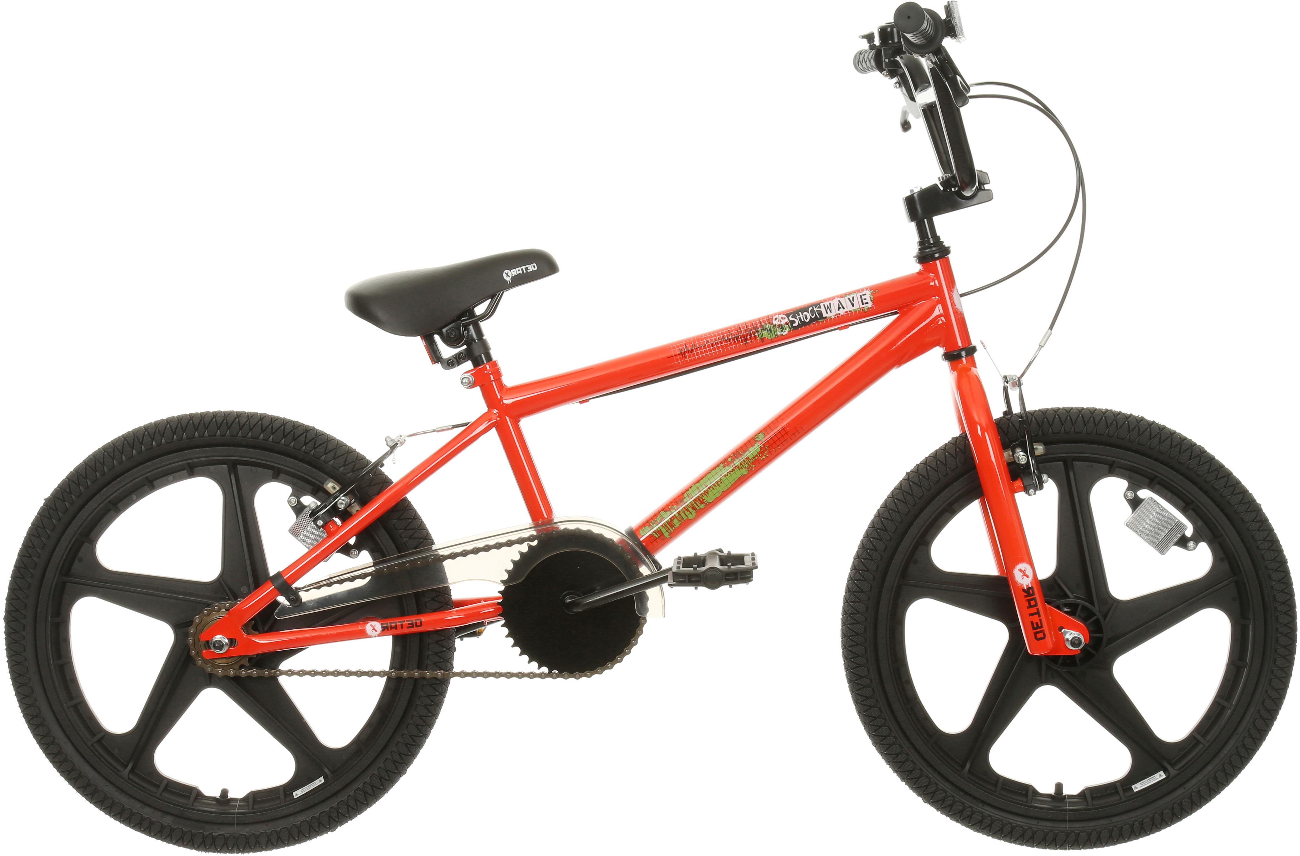 X-Rated Shockwave Kids BMX Bike - 20 inch Wheel