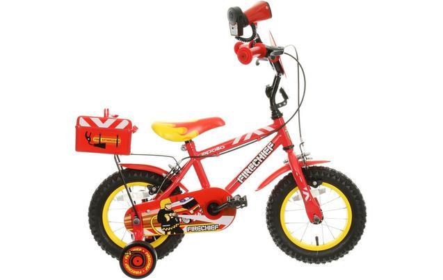 apollo firechief kids bike 12 wh