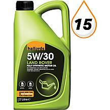image of Halfords Land Rover 5W-30 Oil 2L
