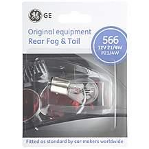 image of GE 566 P21/4W Car Bulb x 1