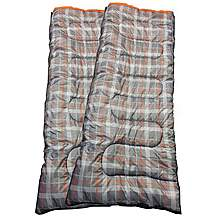 image of OLPro Hush Patterned Sleeping Bag X2 - Double