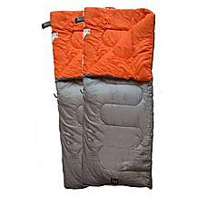 image of OLPro Hush Plain Sleeping Bag X2 - Double