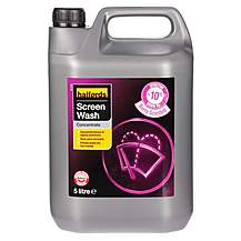 image of Halfords -10 Concentrate Screenwash 5L - Berry