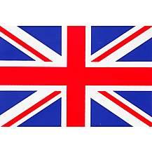 image of Union Jack Car Sticker - Medium
