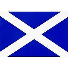 image of Scotland Flag Car Sticker - Medium