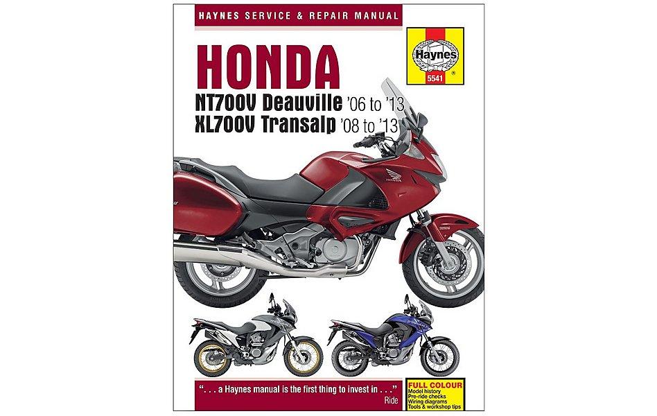 Enjoyable Haynes Honda Nt700V Deauville Xl700V Transalp Motorcycle Wiring 101 Taclepimsautoservicenl