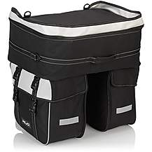 image of XLC Triple Pannier Bag BA-S68