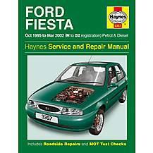 image of Haynes Ford Fiesta (Oct 95 - 01) Manual