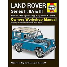 image of Haynes Land Rover Series II, IIA and III Petrol & Diesel Manual (58 - 85) up to C