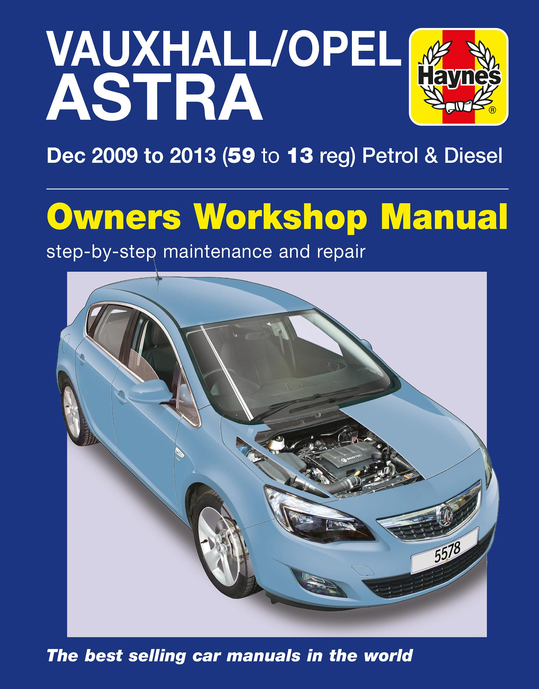 haynes vauxhall opel astra manual rh halfords com astra vxr repair manual Astra VXR Black Out