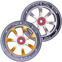 image of Crisp Hollowtech Wheels 100mm Grey/Gold
