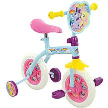 "image of My Little Pony 2-in-1 Kids Bike - 10"" Wheel"