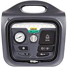image of Halfords 6-in-1 Jump Starter USB, Inverter, Air Compressor, LED 12V DC