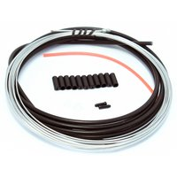 Clarks Stainless Steel Universal Front and Rear Gear Cable Kit - Black