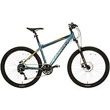 image of Carrera Vulcan Mens Mountain Bike - Blue - S, M, L Frames