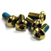 Clarks Alloy Anodised Rotor Bolts - Gold