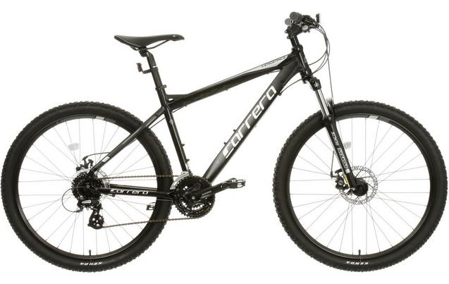 Carrera Vengeance Mens Mountain Bike - Black - XS 9a31143a1