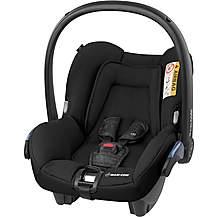 image of Maxi-Cosi Citi Baby Car Seat - Nomad Black
