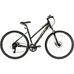 image of Carrera Crossfire 2 Womens Hybrid Bike - Black - S, M, L Frames