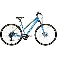 image of Carrera Crossfire 2 Womens Hybrid Bike - Blue  - S, M, L Frames