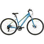 Carrera Crossfire 2 Womens Hybrid Bike - Blue  - S, M, L Frames