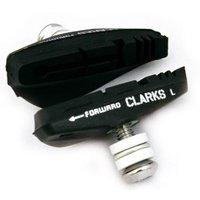 Clarks Brake Pads 55mm Integral Block - Road
